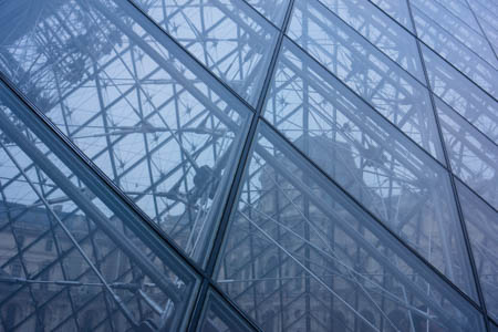 Shades of Blue Pyramid · Pyramide du Louvre · Paris · 2013