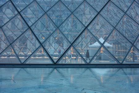 Blue Pyramid · Pyramide du Louvre · Paris · 2013