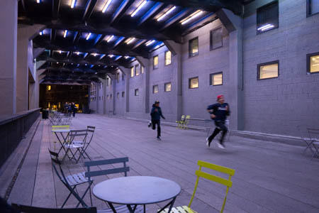 Running on the High Line · Meatpacking District · New-York City · 2013