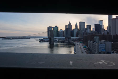 Through Manhattan Bridge · New-York City · 2013