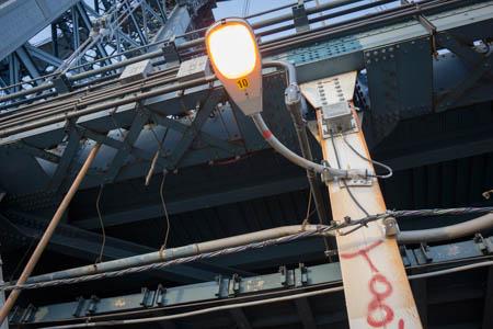 Skeleton · Manhattan Bridge · New-York City · 2013