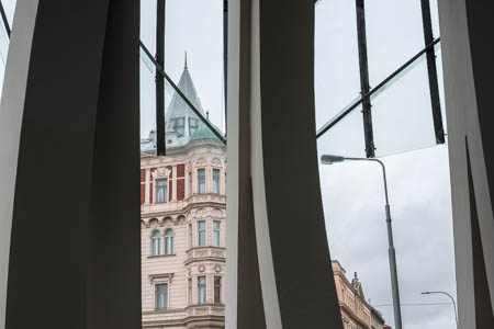 Through The Dancing House (Fred & Ginger) · Prague · 2013