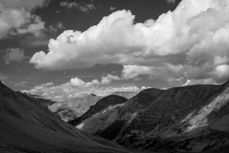 Layered · Col de la Petite Cayolle · Mercantour · Allos · France · 2011