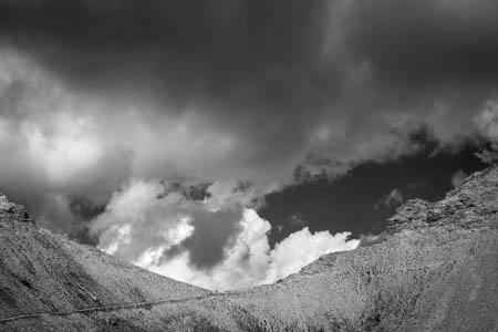 Landscape of Clouds · Col de la Petite Cayolle · Mercantour · Allos · France · 2011