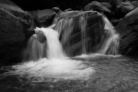 Waterfall · Grand Riou de la Blanche · Saint-Barthélémy · Méolans-Revel · France · 2011