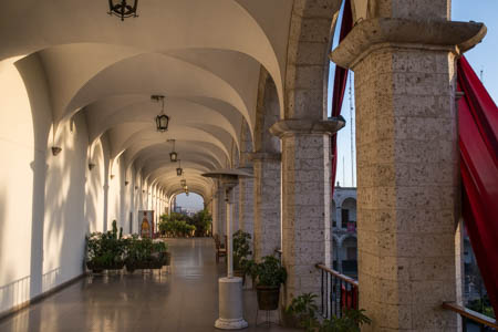The End of a Beautiful Day in Arequipa · Plaza de Armas · Arequipa · Perú · 2013