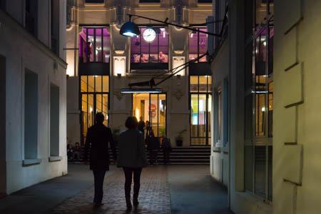 La Nuit Blanche · Maison des Métallos · Belleville · Paris · 2013
