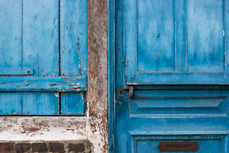 Blue Shutters · Honfleur · Normandie · France · 2014