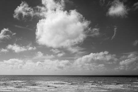Drawing Clouds · Ault · Baie de Somme · France · 2014