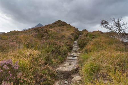 Through the Moorland · Sligachan · Isle of Skye · Scotland · 2014