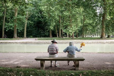 Yellow Cap · Parc de Sceaux · 2015