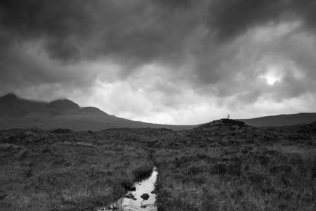 Cloudy Mood · Sligachan · Isle of Skye · Scotland · 2015