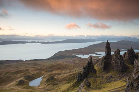 The Storr & Pink Clouds · Isle of Skye · Scotland · 2015