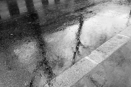 Rain on the Pavement · Paris · 2016