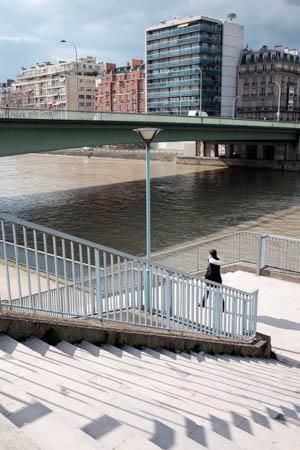 Urban Patterns · Île aux Cygnes · Paris · 2016