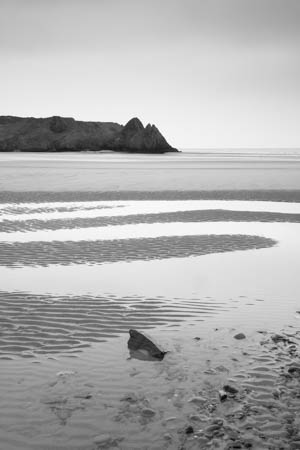 Curves · Threecliff Bay · Wales · 2016
