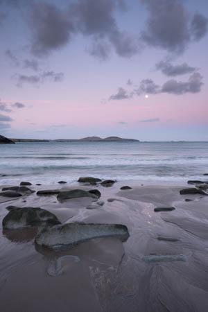 Moonlit Dawn · Whitesands Bay · Saint Davids · Wales · 2016
