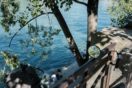 Summer in the Mirror · Quais de Seine · Paris · 2016