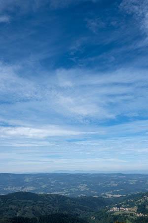 Blue Gradients · Col des Supeyres · Hautes Chaumes du Forez · Auvergne · 2016