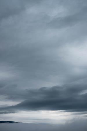 Stormy Skies · Ambert · Auvergne · 2016