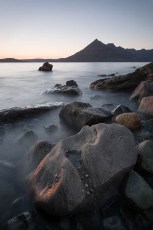 Last Seconds of Sunlight · Elgol · Isle of Skye · Scotland · 2016