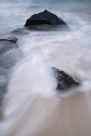 Black Rocks & Waves · Bagh Steinigidh · Isle of Harris · Scotland · 2017