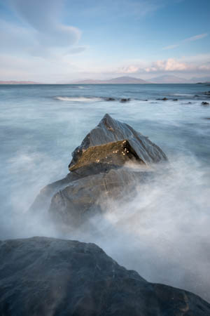 Foam of the Sea Waves · Bagh Steinigidh · Isle of Harris · Scotland · 2017