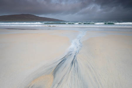 Patterned Sand · Luskentyre · Isle of Harris · Scotland · 2017