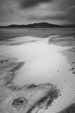 Sand Painting · Seilebost · Isle of Harris · Scotland · 2017