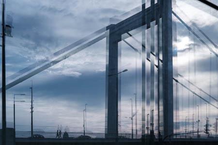 Erzsébet híd (Elisabeth Bridge) · Budapest · Hungary · 2018